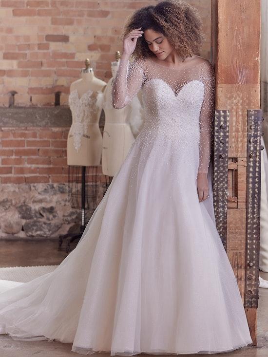 Maggie Sottero Wedding Dress Rosette Lynette