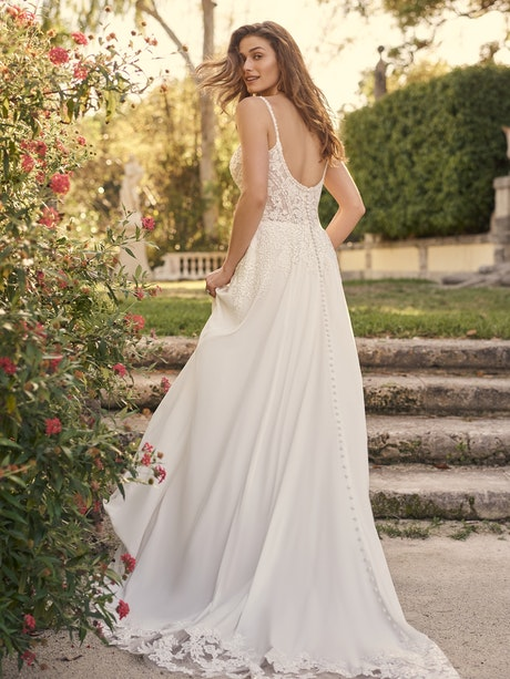Maggie Sottero Wedding Dress Agnes 21MS821A01 Main