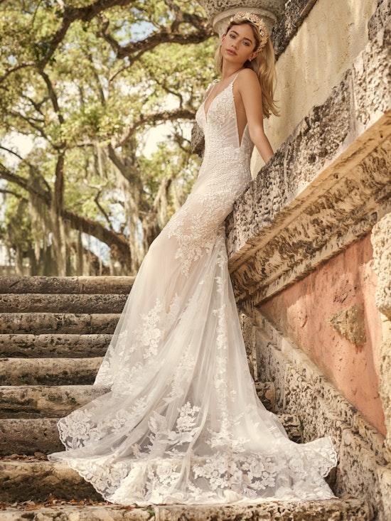 Maggie Sottero Wedding Dress Fontaine 21MZ767A01 Alt7