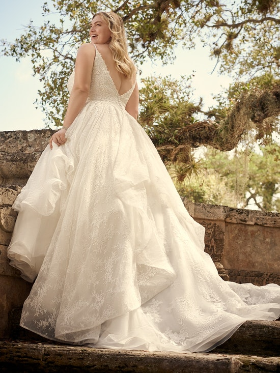 Maggie Sottero Wedding Dress Yuri 21MS825A01 Alt9