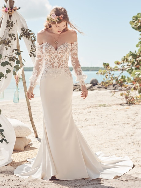 Rebecca Ingram Wedding Dress Beverly 21RC846A01 Main