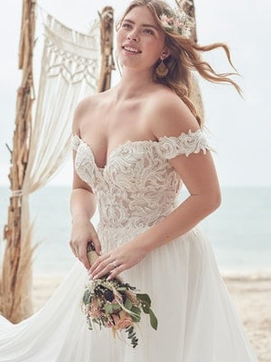Rebecca Ingram Wedding Dress Heather 21RS760A01 Main