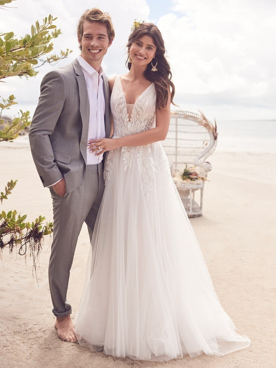 Rebecca Ingram Wedding Dress Jenessa 21RS777A01 Alt1