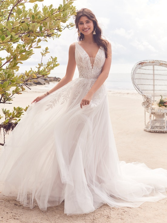 Rebecca Ingram Wedding Dress Jenessa 21RS777A01 Alt2