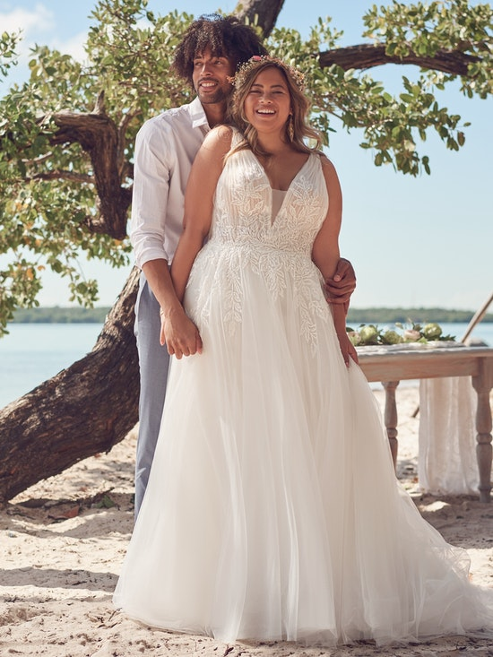 Rebecca Ingram Wedding Dress Jenessa 21RS777A01 Alt7