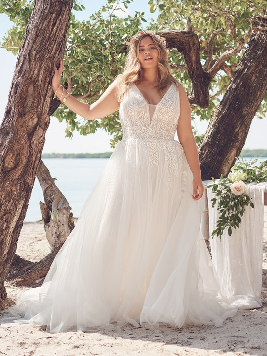 Rebecca Ingram Wedding Dress Jenessa 21RS777A01 Alt9
