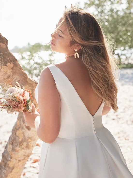 Rebecca Ingram Wedding Dress Pearl 21RW804A01 Alt3