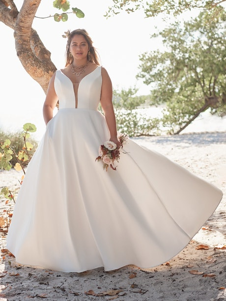 Rebecca Ingram Wedding Dress Pearl 21RW804A01 Main