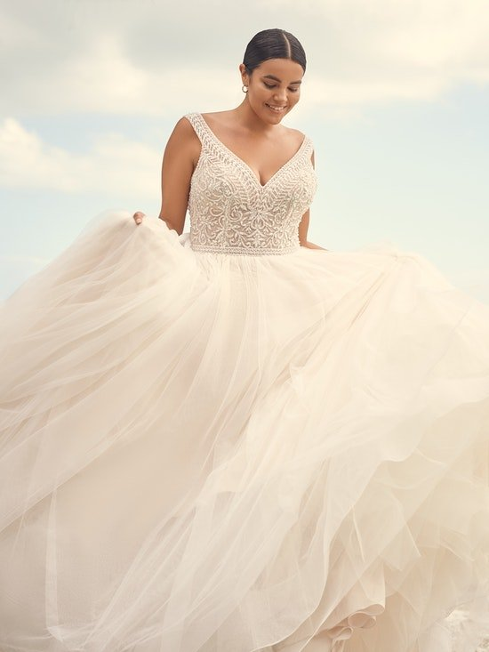 Sottero and Midgley Wedding Dress Priyanka 21SZ823A01 Alt4