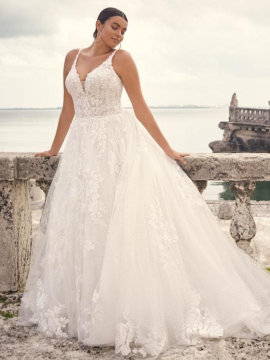 Sottero and Midgley Wedding Dress Valona 21SS786A02 Alt5