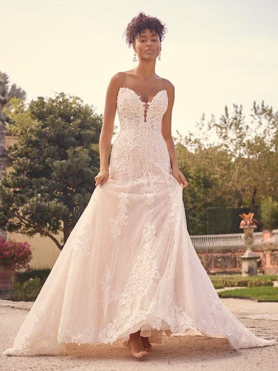 Maggie Sottero Wedding Dress Sedona 21MS807A01 Alt3