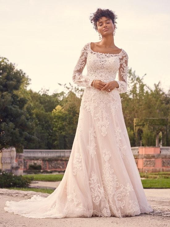 Maggie Sottero Wedding Dress Sedona 21MS807A01 Alt4