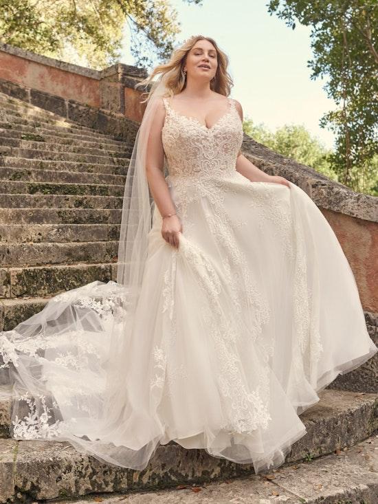 Maggie Sottero Wedding Dress Tiffany 21MS753A01 Alt3