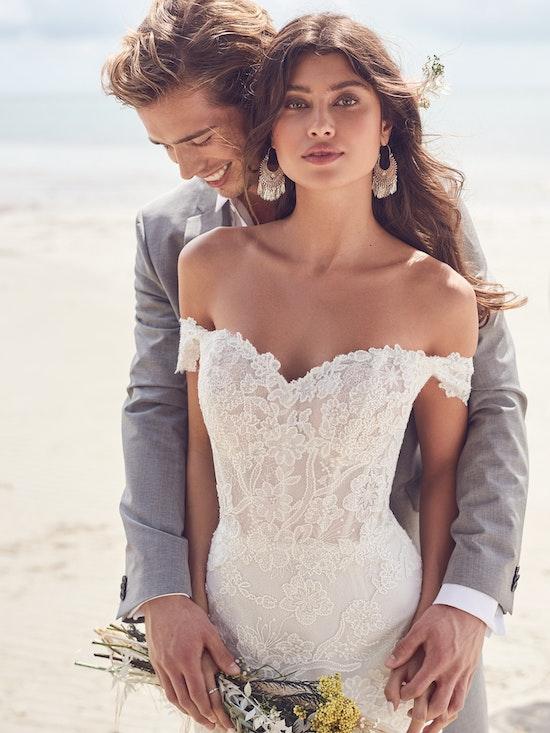 Rebecca Ingram Wedding Dress Dallas 21RK828A01 Alt3
