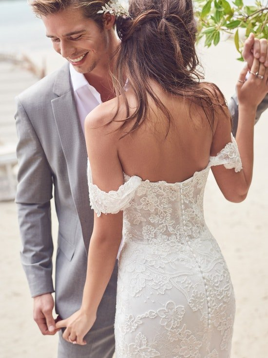 Rebecca Ingram Wedding Dress Dallas 21RK828A01 Alt4