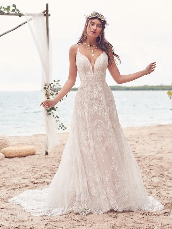 Rebecca Ingram Wedding Dress Keating 21RN865A01 Alt3