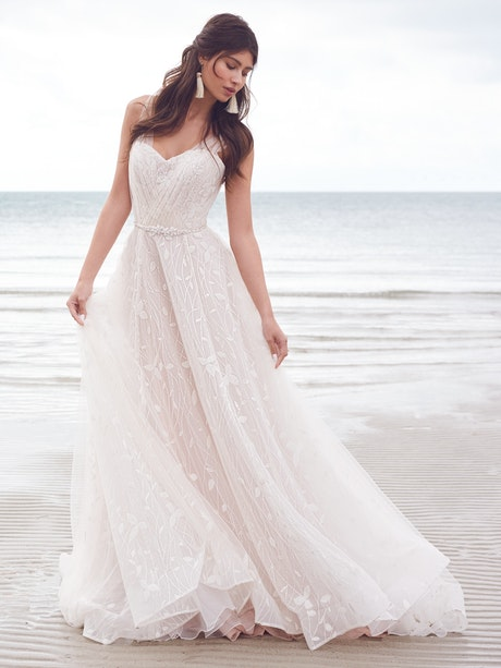 Rebecca Ingram Wedding Dress Sigrid 21RK783A01 Main