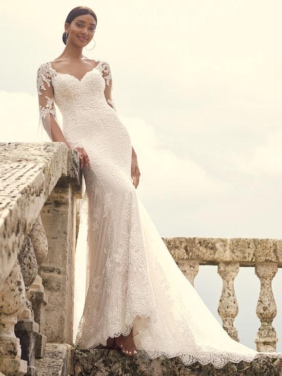 Sottero and Midgley Wedding Dress Dublin 21SS811A01 Alt1