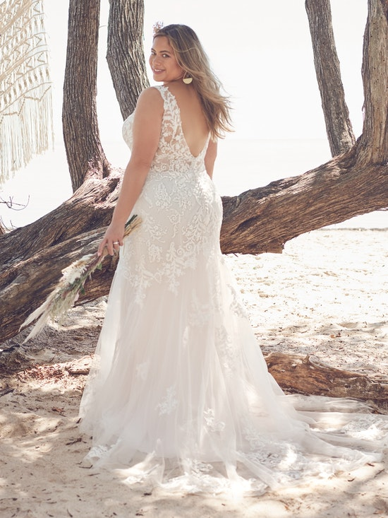 Rebecca Ingram Wedding Dress Faustine 21RT845A01 Alt2