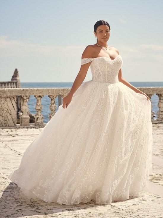 Sottero and Midgley Wedding Dress Zartasha 21SV864A01 Alt2