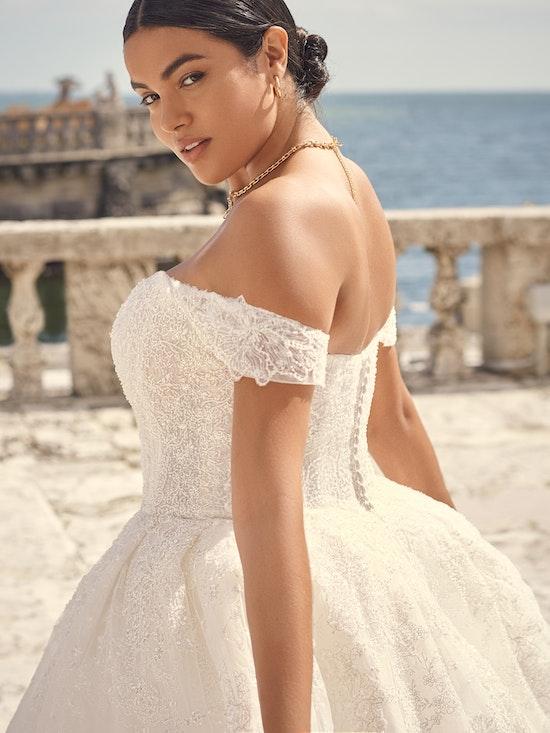 Sottero and Midgley Wedding Dress Zartasha 21SV864A01 Alt3
