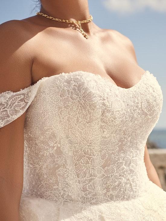 Sottero and Midgley Wedding Dress Zartasha 21SV864A01 Alt4