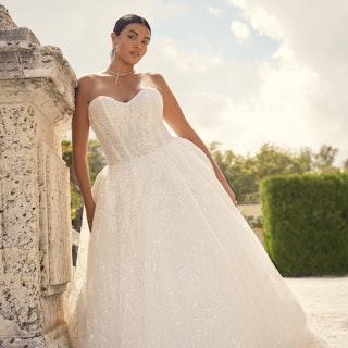Sottero and Midgley Wedding Dress Zartasha 21SV864A01 Main