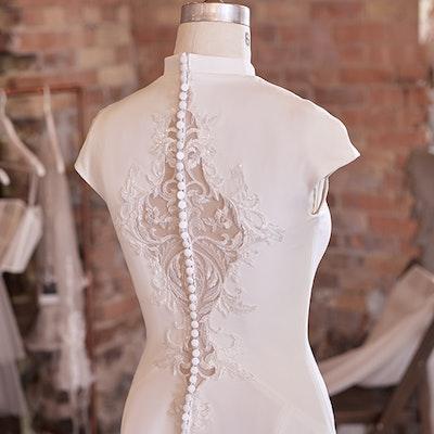 Rebecca Ingram Wedding Dress Carole 21RC834B bp04