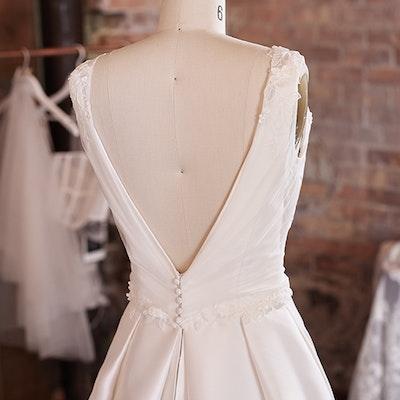 Rebecca Ingram Wedding Dress Pearl 21RW804 bp04