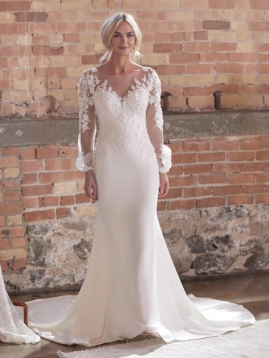 Sottero and Midgley Wedding Dress Arta 21SC824A01 Alt52