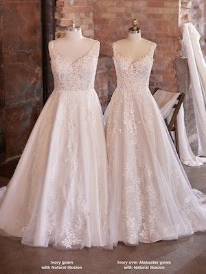 Maggie Sottero Wedding Dress Tiffany 21MS753 Color3
