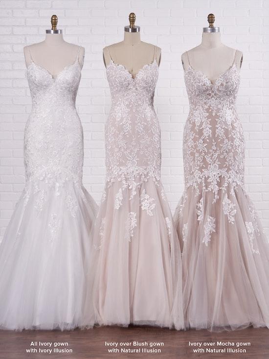 Rebecca Ingram Wedding Dress Forrest 21RC835A Color4
