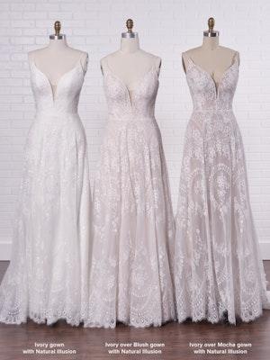 Rebecca Ingram Wedding Dress Keating 21RN865 Color4