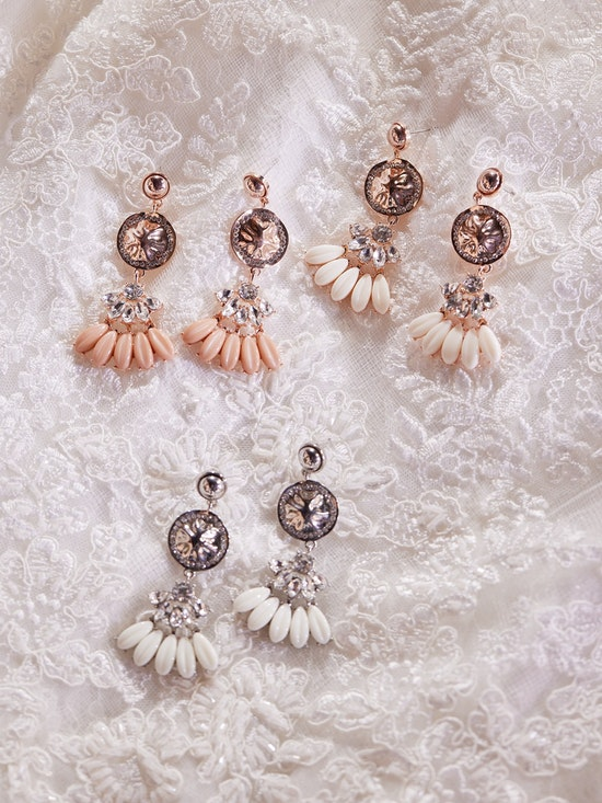 A-El-Este with Maggie Sottero Jewelry ALANIS (Earring) 21AE103EA Alt1