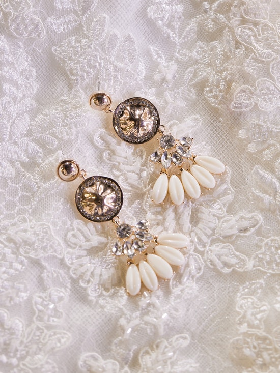 A-El-Este with Maggie Sottero Jewelry ALANIS (Earring) 21AE103EA Alt7