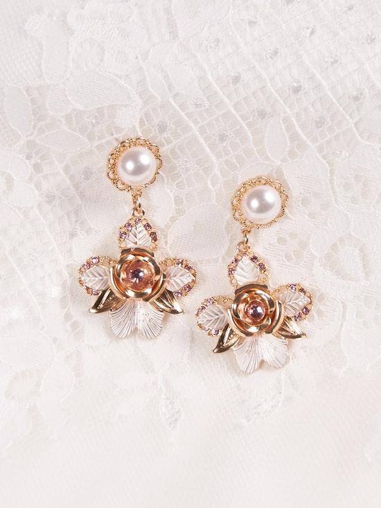 A-El-Este with Maggie Sottero Jewelry CALAVERAS (Earring) 21AE111EA Alt1