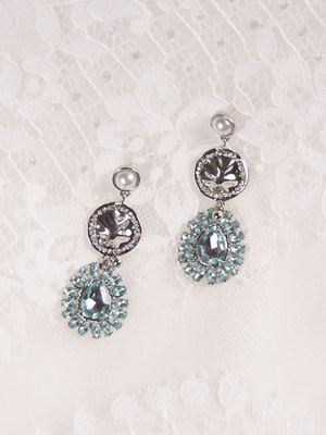 A-El-Este with Maggie Sottero Jewelry EUGENE (Earring) 21AE110EA Alt1
