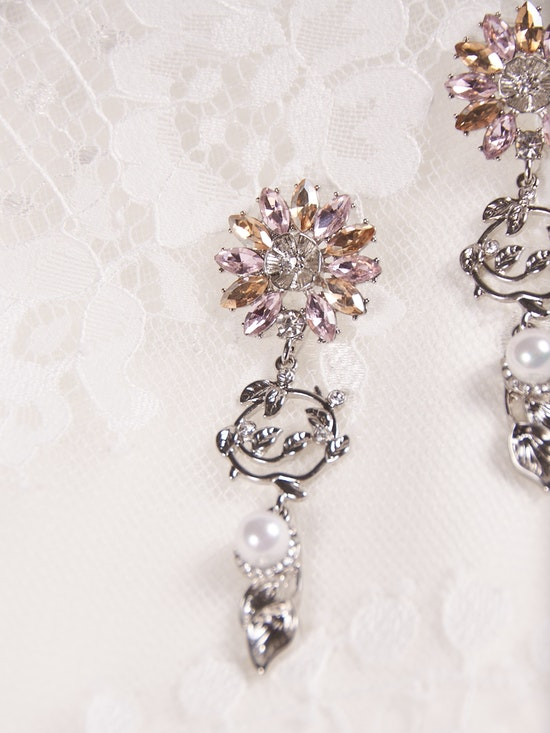 A-El-Este with Maggie Sottero Jewelry HAYDEN (Earring) 21AE112EA Alt1