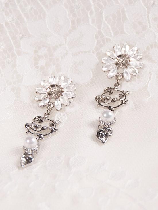 A-El-Este with Maggie Sottero Jewelry HAYDEN (Earring) 21AE112EA Alt2
