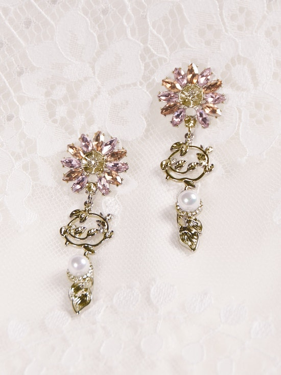 A-El-Este with Maggie Sottero Jewelry HAYDEN (Earring) 21AE112EA Alt5