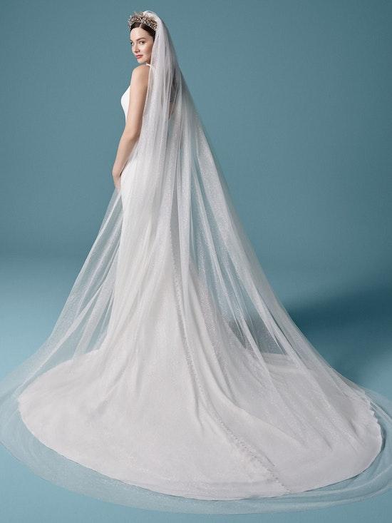 Maggie Sottero Accessories CHERISE (Veil) YYVL+20XS747 Back1