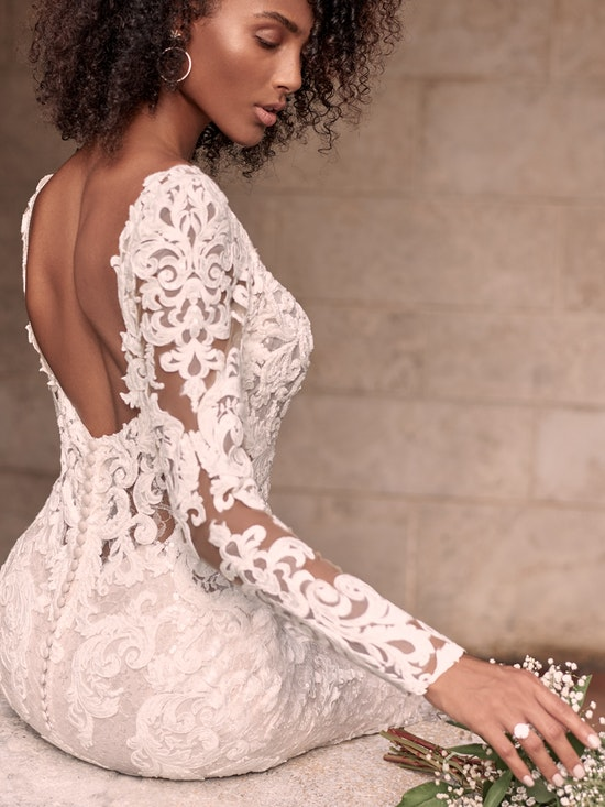Maggie Sottero Accessories TUSCANY ROYALE (Detachable Long Sleeves) YYDS0+21MS347000 Alt6