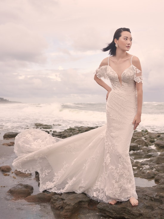 Sottero and Midgley Accessories BRYAN (Detachable Flutter Sleeves) YYDS0+21SS348000 Alt5