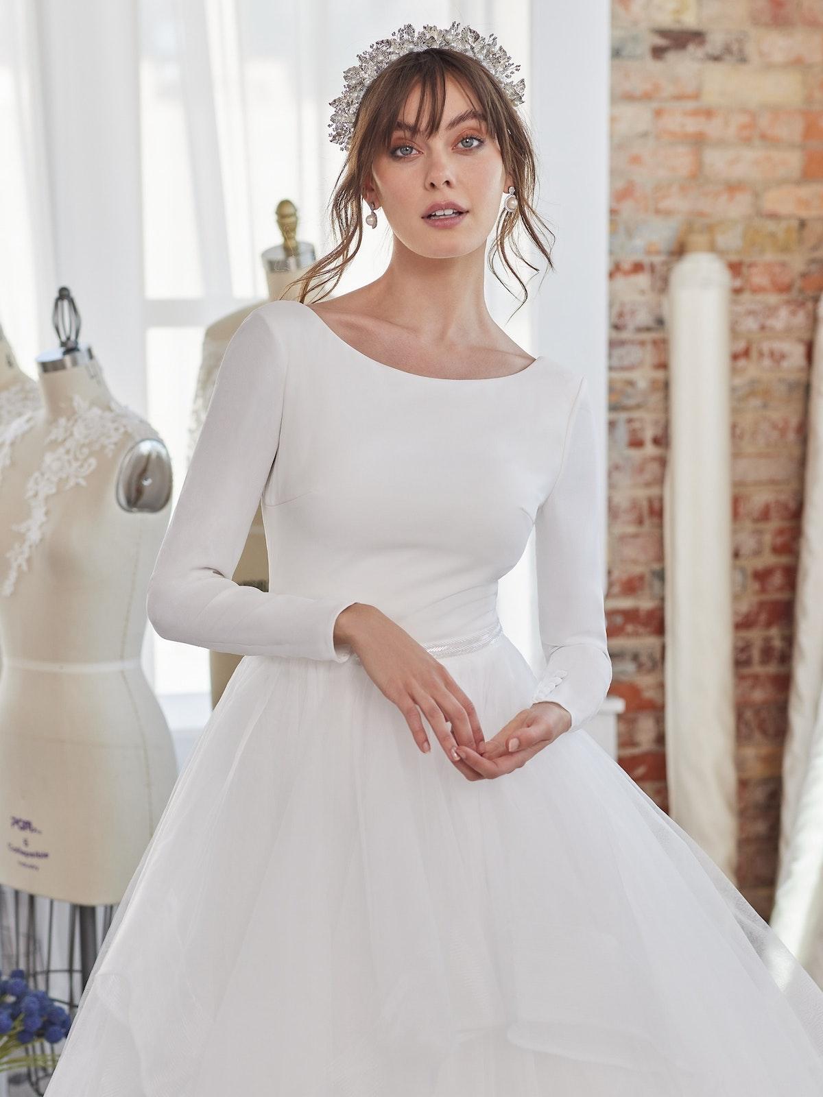Maggie Sottero Wedding Dress Fatima Lynette 20MW328B11 Alt050