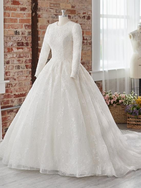 Sottero and Midgley Wedding Dress Zartasha Leigh 21SV864B01 Alt101