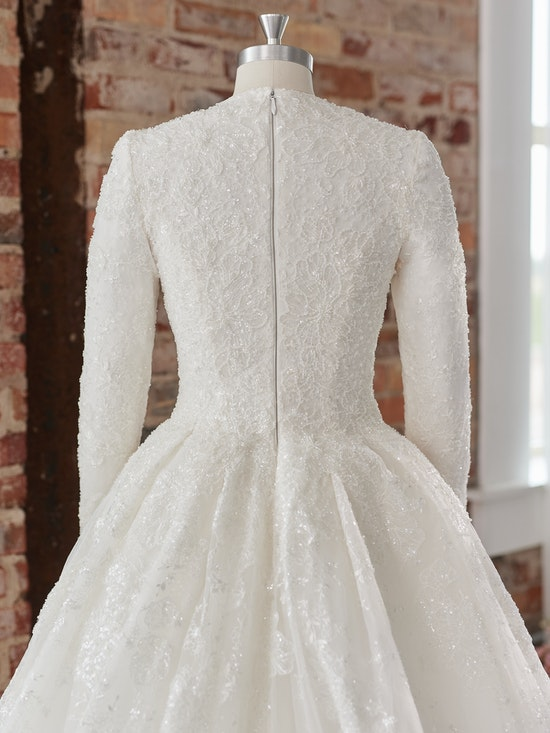 Sottero and Midgley Wedding Dress Zartasha Leigh 21SV864B01 Alt104