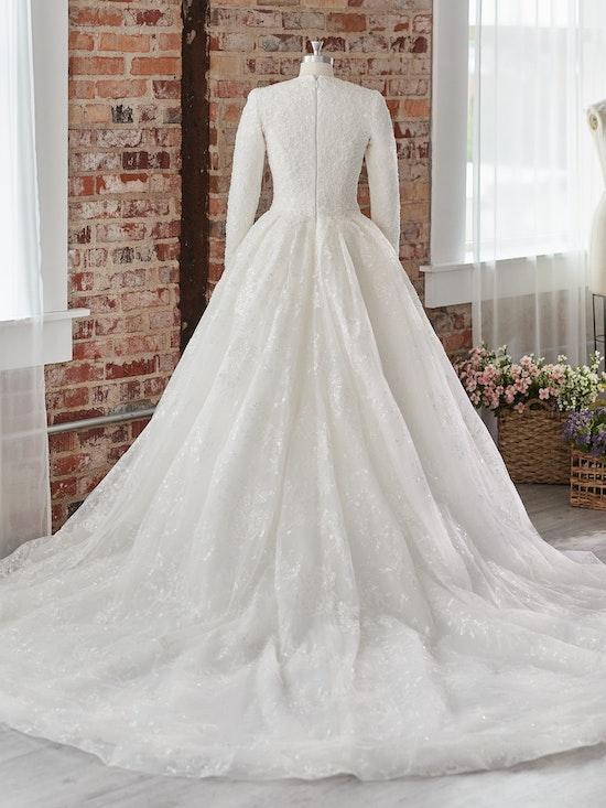 Sottero and Midgley Wedding Dress Zartasha Leigh 21SV864B01 Alt105