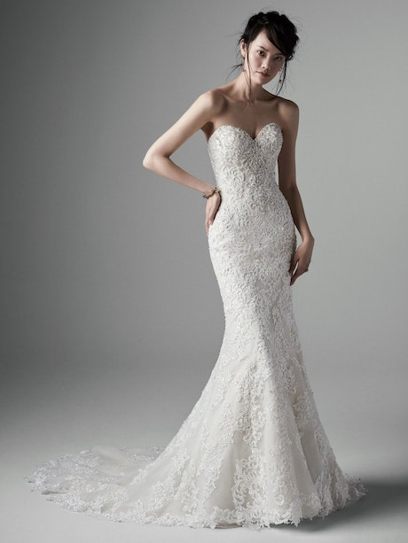 Stella (5SS114LU) Unique Lace Wedding Dress by Sottero and Midgley