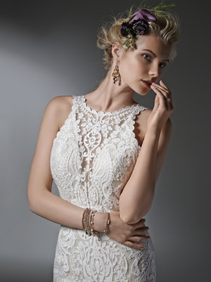 Winifred (Curve) (CRV-6ST263) Lace Wedding Dress by Sottero and Midgley