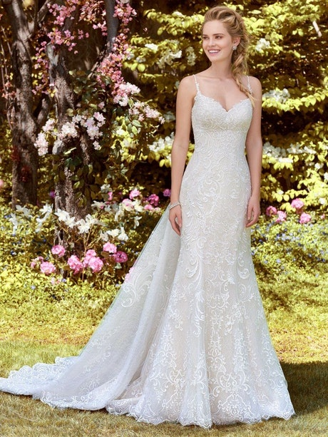 Debbie (8RS557) Princess Wedding Dress by Rebecca Ingram